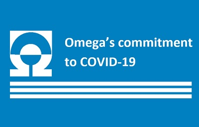 Omega's initiatives to support customers, community and employees