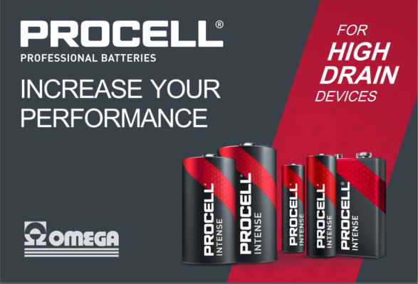 Procell Intense batteries for high drain devices