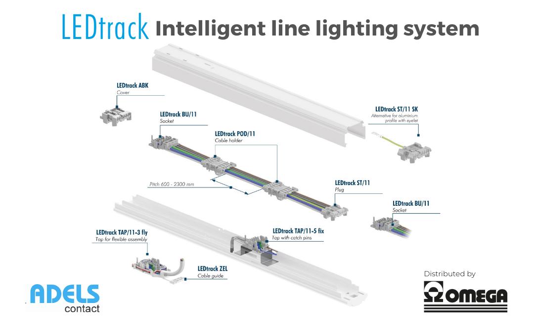 LEDtack Adels – Intelligent module for in-line lighting systems
