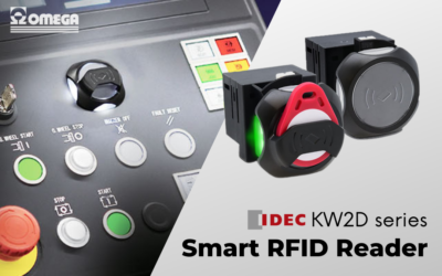 KW2D Idec – Smart and autonomous RFID reader for stylish and modern panels