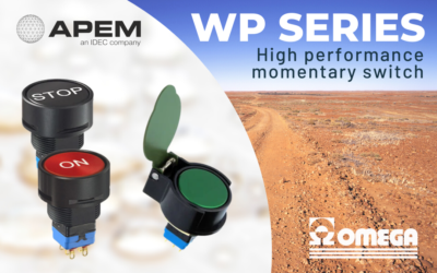 WP series – High performance momentary switches